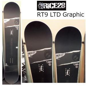 予約商品 5大特典付 19 RICE28 RT-9 LTD Graphic LTD 2サイズ ライス28 アールティーナイン リミテッド 19Snow スノーボード 18-19|extreme-ex