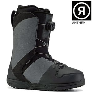 緊急入荷 20-21 RIDE Boots ライド ブーツ ANTHEM BOA アンセム ボア Grey シングルボア メンズ スノーボードブーツ|extreme-ex