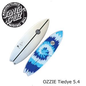 SANTA CRUZ OZZIE Tiedye 5.4 サンタクルーズ オジー フレックス ニー〜ヘッド サーフボード|extreme-ex