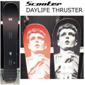 5大特典付 19 SCOOTER DAYLIFE THRUSTER 2サイズ スクーター デイライフスラスター 19Snow スノーボード 18-19|extreme-ex