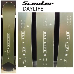 154cm入荷 5大特典付 19 SCOOTER DAYLIFE 3サイズ スクーター デイライフ  19Snow スノーボード 18-19|extreme-ex