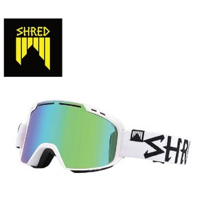 19 SHRED Goggle AMAZIFY WHITE OUT CBL PLASMA/CBL Green/Plasma Reflect シュレッド アメージファイ ボードゴーグル 18-19 19Snow|extreme-ex