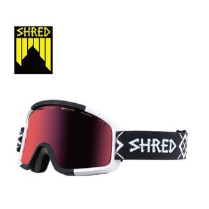 19 SHRED Goggle MONOCLE BIGSHOW BLACK-WHITE CBL/CBL Green/Plasma Reflect シュレッド モノクル ロ ボードゴーグル 18-19 19Snow|extreme-ex