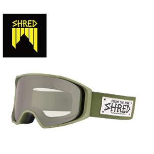 19 SHRED Goggle SIMPLIFY MARTIAL/CBL Green CBL シュレッド シンプリ― ボードゴーグル 18-19 2018-19 19Snow|extreme-ex