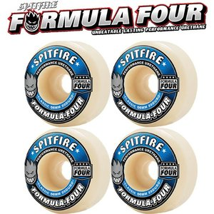 送料無料 SPITFIRE スケートボード ウィール 【 FORMULA FOUR Classicシェイプ 99DURO 】 スケボー スピットファイヤー WHEELS|extreme-ex
