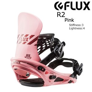 18 FLUX R2 B/D Pink フラックス アールトゥー スノーボード バインディング 17-18 2017 2017-18 extreme-ex