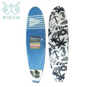 SURF WHA'EVA FLAG 7'0 Blue ソフトサーフボード EVA素材 軽量 ソフト素材 WHA EVA ワー イーブイエー|extreme-ex