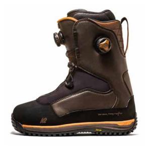 18 TARO TAMAI SNOWSURFER Boots Brown バックカントリー パウダー タマイタロウ K2 ケイツー GENTEM 17 - 18 スノーボード ブーツ K2 スノーサーファー extreme-ex