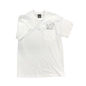TOYMACHINE POCKET TEE SHIRT WHITE トイマシーン S/S Tシャツ|extreme-ex