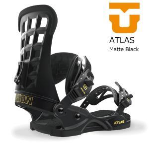 18 UNION ATLAS B/D MatteBlack ユニオン アトラス スノーボード バインディング 17-18 2017 2017-18|extreme-ex