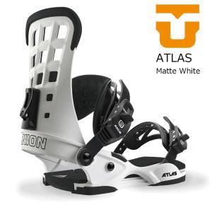 18 UNION ATLAS B/D MatteWhite ユニオン アトラス スノーボード バインディング 17-18 2017 2017-18|extreme-ex