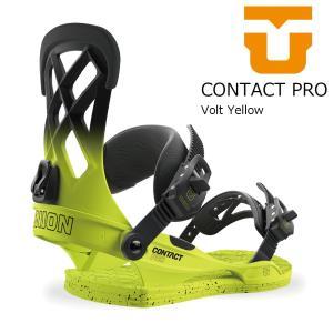 18 UNION CONTACT PRO  B/D Volt Yellow ユニオン コンタクトプロ スノーボード バインディング 17-18 2017 2017-18|extreme-ex