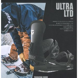 18 UNION ULTRA LTD B/D Black ユニオン ウルトラ エルティーディー スノーボード バインディング 17-18 2017 2017-18|extreme-ex