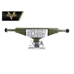 VENTURE Trucks MOTTO LTD TEAM army green/ polished HI スケートボード トラック ベンチャー スケボー|extreme-ex
