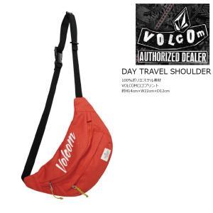 VOLCOM Day Travel Shoulder FRE ボルコム デイ トラベル ショルダーバック ウエストポーチ 18 SPRING|extreme-ex