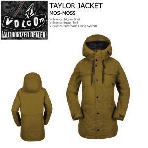 18 VOLCOM W TAYLOR Jacket 3カラー ボルコム タイラー ジャケット 17-18 2017-18 extreme-ex