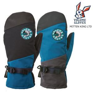 予約商品 21-22 VOLUME Gloves ボリューム GORE-TEX MittenKing LIMITED ミトンキング リミテッド レザー 革 S M L 限定カラー メンズ レディース ゴアテック|extreme-ex