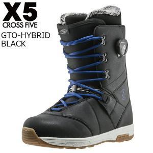 17 X5 GTO-HYBRID Boots Black ブーツ クロスファイブ ジーティーオーハイブリッド CROSSFIVE スノーボード ブーツ 16 - 17 2017|extreme-ex