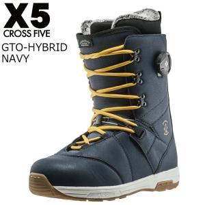17 X5 GTO-HYBRID Boots Navy ブーツ クロスファイブ ジーティーオーハイブリッド CROSSFIVE スノーボード ブーツ 16 - 17 2017|extreme-ex