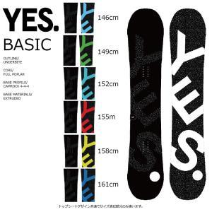 17 YES BASIC イエススノーボード ベーシック 6サイズ ツイン キャムロック 板 16 - 17 2017