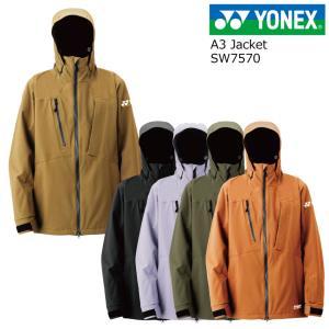 予約商品 21-22 YONEX ヨネックス SW7564 A3 Jacket ジャケット スノーボードウエア メンズ レディース 耐水圧30000mm ヒートカプセル スノボウエア|extreme-ex