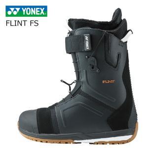 3大特典付 19 YONEX FLINT FS ブラック (BTECFS18) ヨネックス エクリプション ミディアムフレックス  パワークッション+ 19Snow スノーボード 18-19|extreme-ex
