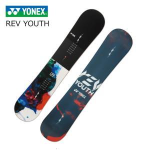 5大特典付 19 YONEX REV YOUTH ジャパンレッド (RY18) 4サイズ ヨネックス レブユース パイプ パーク オールマウンテン 19Snow スノーボード 18-19|extreme-ex