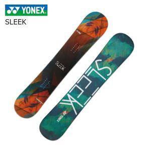 19 YONEX SLEEK (W) サンセットオレンジ (SL18) 5サイズ ヨネックス スリーク パイプ パーク オールマウンテン 19Snow スノーボード 18-19|extreme-ex