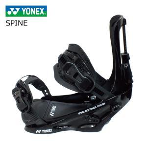 3大特典付 19 YONEX ビンディング SPINE BACK ブラック (BDSPFS01) ヨネックス Binding スパインバック  カーボンシャフト 19Snow スノーボード 18-19|extreme-ex