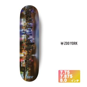 ZOOYORK スケボー デッキ 【 CITY TRIPPIN 】 7.75 7.875 8.0 インチ スケートボード ズーヨーク SKATEBOARD DECK|extreme-ex