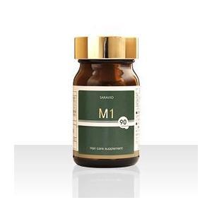 内側からの栄養補給と血行促進をサポート!M-1ヘアケアサプリメント(90粒 1日3粒目安/30日分)