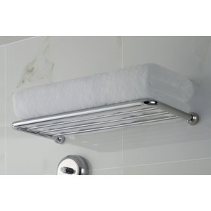LIXIL INAX タオル棚 真鍮パイプ(浴室アクセサリ) 品番:6205-BTYPE-L400|eye-s2