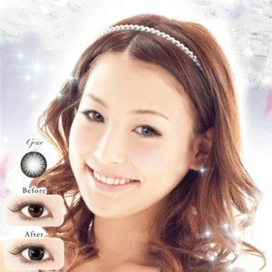 カラコン 度なし ネオサイトワンデーリングカラーズ グレー 1箱|eyelife