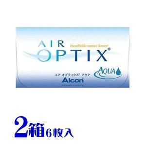 送料無料 コンタクトレンズ  エアオプティクス アクア  2箱セット 2週間用 日本アルコン(旧チバビジョン) (1箱6枚入り)|eyelife