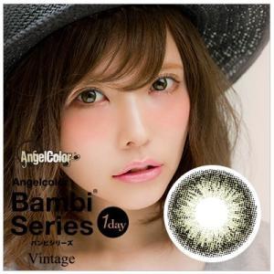 【1箱10枚入】カラコン エンジェルカラー バンビ ワンデー 14.2 益若つばさ ナチュラル 1day カラーコンタクト 度あり 度なし|eyes-creation