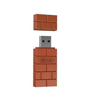 Goolsky 8Bitdo ワイヤレス BT アダプタ Nintendo Switch USBワイ...