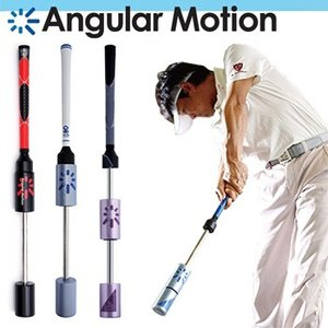 ボールを打たずに上手くなれる素振りギアAngularMotion(アンギュラーモーション)通称:E-スウィング「ゴルフ練習用品」
