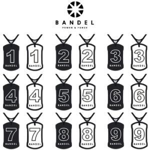 2016モデルBANDEL(バンデル)REVERSIBLE necklace(リバーシブルネックレス)ナンバーネックレス|ezaki-g