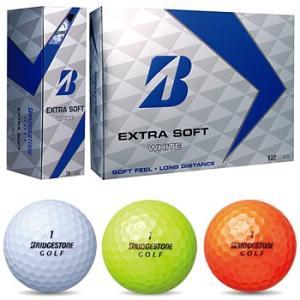 ブリヂストン日本正規品EXTRA SOFT(エクストラソフト)ゴルフボール1ダース(12個入)|ezaki-g