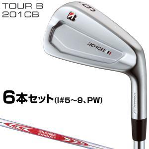 BRIDGESTONE GOLF(ブリヂストンゴルフ)日本正規品 TOUR B 201CBアイアン ...