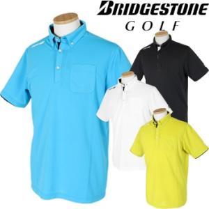 BridgestoneGolf ブリヂストンゴルフウエア 春夏ウエア 半袖ボタンダウンシャツ FGM15A