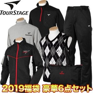 BRIDGESTONE TOURSTAGE(ブリヂストンツアーステージ) 日本正規品 2019新春 「メンズウエア」 豪華6点セットゴルフ福袋