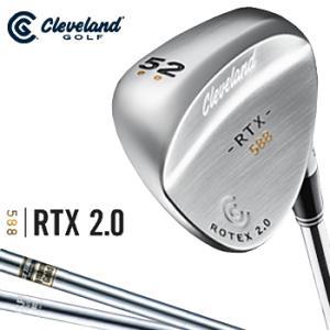 Cleveland(クリーブランドゴルフ)日本正規品 588 RTX2.0ウェッジ ツアーサテン仕上...