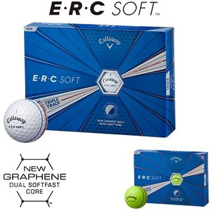 Callaway(キャロウェイ)日本正規品 ERC SOFT(イーアールシーソフト) TRIPLE TRACK 2019モデル ゴルフボール1ダース(12個入)