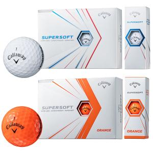 キャロウェイ日本正規品SUPERSOFT(スーパーソフト)ゴルフボール「1ダース(12個入)」|ezaki-g
