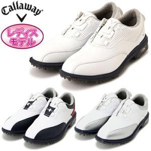 Callaway(キャロウェイ)日本正規品 Tour LS WMS 17JM (ツアーLSウィメンズ17JM) ソフトスパイクゴルフシューズ 2017モデル 「247-7983800」 レディスモデル