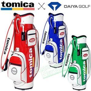 tomica×DAIYA GOLF トミカ×ダイヤゴルフ日本正規品 キャディバッグ4102 2018モデル 「CB-4102」|ezaki-g