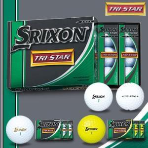 ダンロップ スリクソンTRI-STAR(トライスター)ゴルフボール1ダース(12個入り)