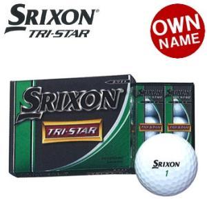 ダンロップ スリクソンTRI-STAR(トライスター)ゴルフボール3ダース(36個入り)
