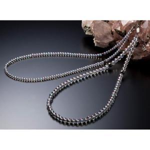 ファイテン(PHITEN) チタン水晶ネックレス(+5cmアジャスター)